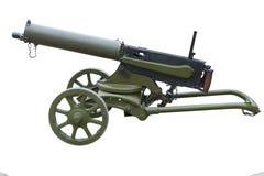 WWI machine gun Royalty Free Stock Photos