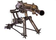 WWI Maschinengewehr Stockbild