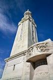 战争纪念建筑WWI Notre Dame de Lorette法国 免版税图库摄影