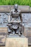 WWI scottish war monument Royalty Free Stock Image