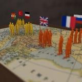 WWI-Strijders Royalty-vrije Stock Afbeeldingen