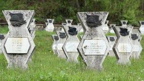 WWII公墓 影视素材