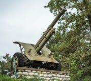 WWII火炮 库存图片