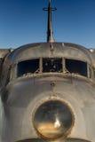 从WWII的葡萄酒航空器 库存图片