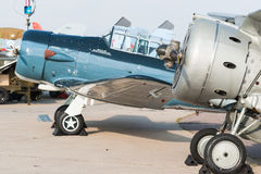 WWII苏维埃前Polikarpov I-15战斗机 免版税图库摄影