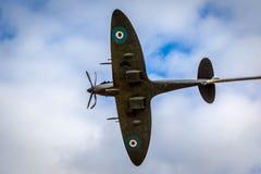 WWII飞机雕塑 免版税图库摄影