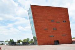 WWII μουσείο Γντανσκ Πολωνία Στοκ Εικόνες