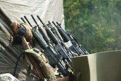 wwii комплекта автоматических оружий старое Стоковая Фотография RF