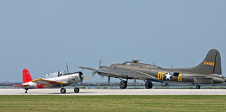 WWII Aircraft Royalty Free Stock Photos