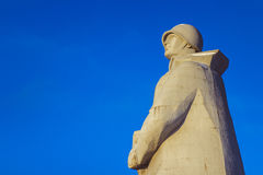 WWII Alyoshka μνημείο στοκ εικόνα με δικαίωμα ελεύθερης χρήσης