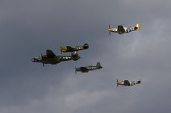 WWII-amerikanairpower Royaltyfri Fotografi