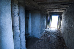 WWII bomb shelter Royalty Free Stock Images