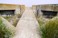 WWII bunker Royalty Free Stock Photography