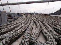 WWII Cargo Ship Stock Photo