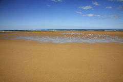 WWII D-Day Omaha Beach. This is the D-day beach from World War Two in Normandy France - Omaha Beach Royalty Free Stock Image