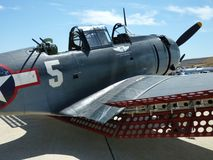 WWII Dauntless Dive Bomber royalty free stock images