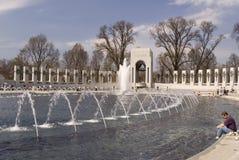 WWII Denkmal - Washington, Gleichstrom Stockfotografie