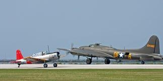 WWII Flugzeuge Lizenzfreie Stockfotos