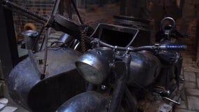 Wwii German Motorcycle In Woods motorcycle sidecar