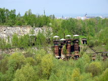 Free WWII German Nazi Labour Camp With Krakow In The Background Royalty Free Stock Photography - 36049707