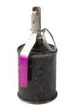 Wwii hand grenade isolated Royalty Free Stock Photos