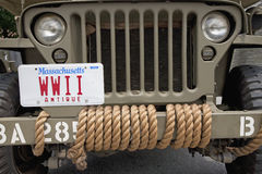 WWII Jeep  Stock Photos