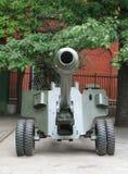 WWII Kanone Lizenzfreie Stockfotos