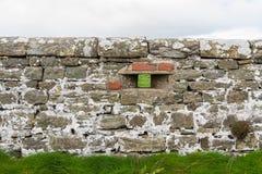 WWII Loopholed τοίχος στοκ φωτογραφία