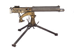 WWII Machine Gun Stock Images
