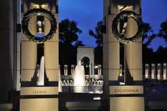 WWII Memorial Royalty Free Stock Photos