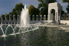 WWII Memorial. World War II Memorial in Washington D.C Stock Photography