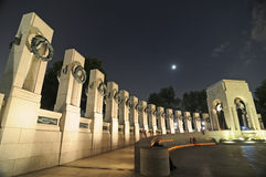 WWII Memorial Royalty Free Stock Image