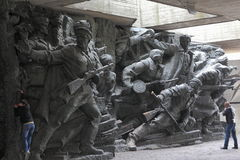 WWII memorial in Kiev, Ukraine Stock Image