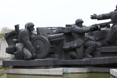 WWII memorial in Kiev, Ukraine Stock Images