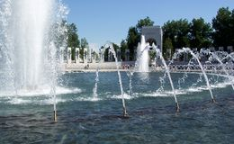 WWII Memorial-Pacific Theatre Stock Photo