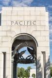 The WWII Memorial. In Washington DC Stock Photos