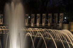 WWII Memorial Washington DC Royalty Free Stock Photography