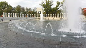 WWII Memorial in Washington DC Royalty Free Stock Photography