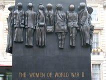 WWII-minnesmärke till kvinnor royaltyfri fotografi
