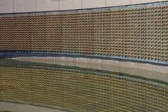 WWII-minnesmärkeWashington DC Royaltyfria Bilder