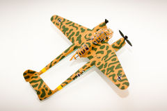 WWII model kit plane Royalty Free Stock Photography