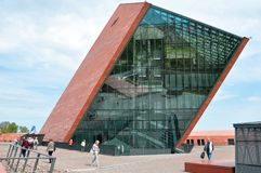 WWII museum 4. Gdansk. Poland. World War II museum. Gdansk. Poland Royalty Free Stock Images