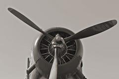 WWII Samolot obrazy stock