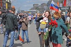 WWII Siegparade, 2011, Moskau, Russland Stockbild