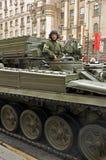 WWII Siegparade, 2011, Moskau, Russland Stockfoto
