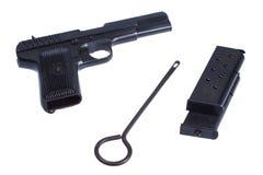 WWII sowjetische Pistole TT (Tula, Tokarev) Stockbild