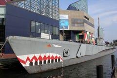 WWII Submarine USS Tarsk Stock Images