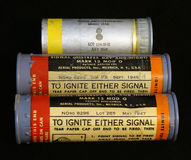 WWII US M8 Flares Close Up Stock Images