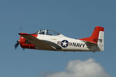 WWII US Navy combat trainer Royalty Free Stock Photography