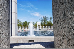WWII USA Memorial. A view of The National World War II Memorial in Washington D.C., USA Royalty Free Stock Image